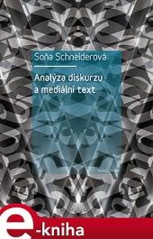 Analýza diskurzu a mediální text obálka knihy
