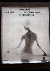 Moderní francouzská fotografie obálka knihy