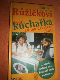 Kuchařka krůtí co má devatero chutí obálka knihy
