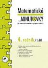 Matematické ...minutovky 4. ročník / 1. díl obálka knihy