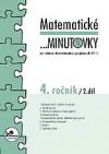 Matematické ...minutovky 4. ročník / 2. díl obálka knihy