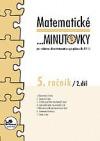 Matematické ...minutovky 5. ročník / 2. díl obálka knihy