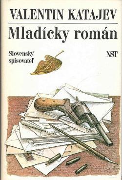 Mladícky román obálka knihy