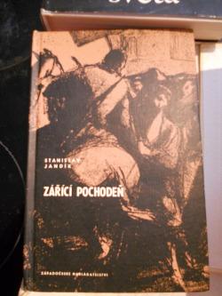Zářící pochodeň obálka knihy