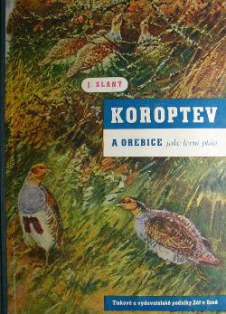Koroptev a orebice jako lovní ptáci obálka knihy