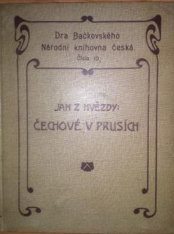 Čechové v Prusích obálka knihy