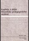 Kapitoly z dějin filozoficko pedagogického myšlení