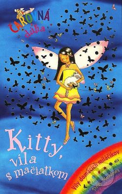 Kitty, víla s mačiatkom obálka knihy