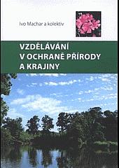 Vzdělávání v ochraně přírody a krajiny obálka knihy
