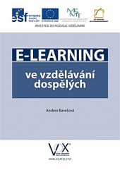 E-learning ve vzdělávání dospělých obálka knihy