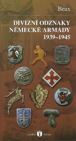 Divizní odznaky německé armády 1939-1945 obálka knihy