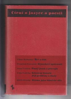 Čtení o jazyce a poesii