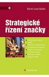Strategické řízení značky obálka knihy