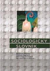 Sociologický slovník obálka knihy