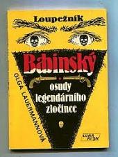 Loupežník Babinský: osudy legendárního zločince obálka knihy