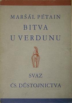 Bitva u Verdunu obálka knihy