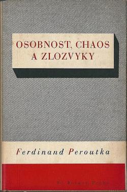 Osobnost, chaos a zlozvyky obálka knihy