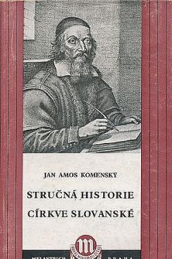 Stručná historie církve slovanské obálka knihy