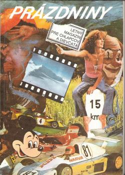 Prázdniny - Letný magazín pre chlapcov a dievčatá obálka knihy