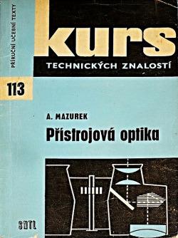 Přístrojová optika obálka knihy