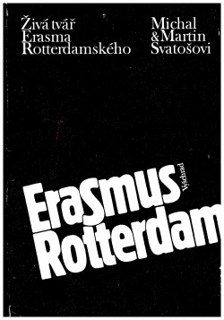 Živá tvář Erasma Rotterdamského obálka knihy