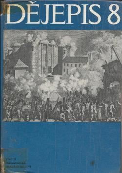 Dějepis 8 obálka knihy