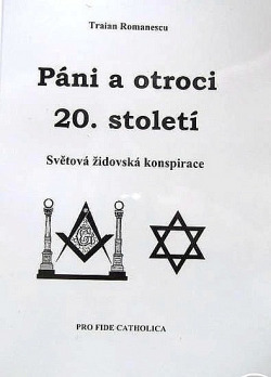Páni a otroci 20. století - Světová židovská konspirace obálka knihy
