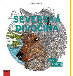 Severská divočina - Maluj a relaxuj obálka knihy