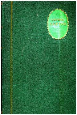 Goethe obálka knihy