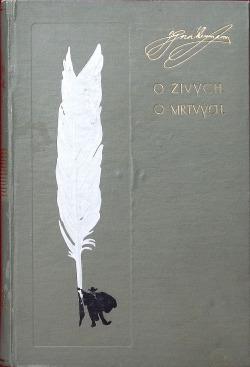 O živých, o mrtvých - 1. díl obálka knihy