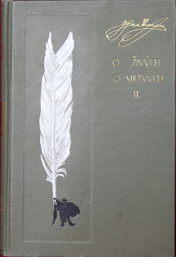 O živých, o mrtvých - 2. díl obálka knihy