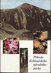 Příroda Krkonošského národního parku obálka knihy