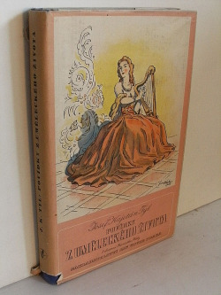 Povídky z uměleckého života obálka knihy