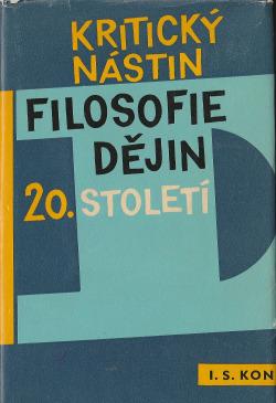 Kritický nástin filosofie dějin 20. století obálka knihy