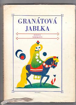 Granátová jablka obálka knihy