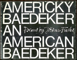 Americký baedeker = An American Baedeker obálka knihy