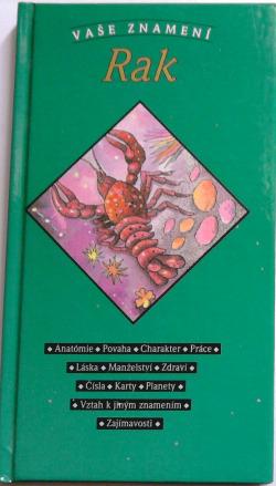 Vaše znamení - Rak obálka knihy