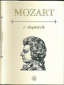 Mozart v dopisech obálka knihy