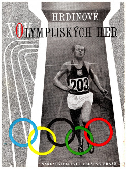Hrdinové XIV. Olympijských her obálka knihy