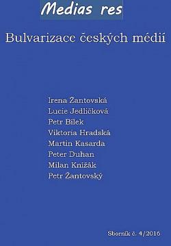 Bulvarizace českých médií obálka knihy