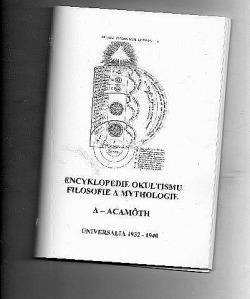 Encyklopedie okultismu, filsofie a mythologie A - Acamôth obálka knihy