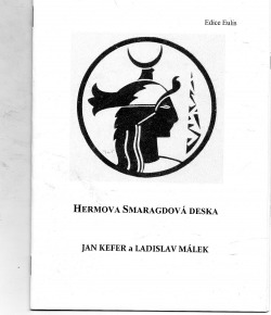 Hermova Smaragdová deska obálka knihy