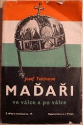 Maďaři ve válce a po válce obálka knihy