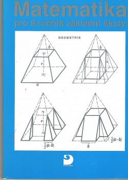 Matematika pro 9.ročník zákadní školy anižší třídygymnázia Geometrie obálka knihy