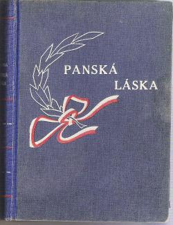 Panská láska obálka knihy