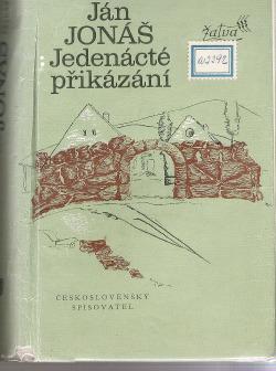 Jedenácté přikázání obálka knihy