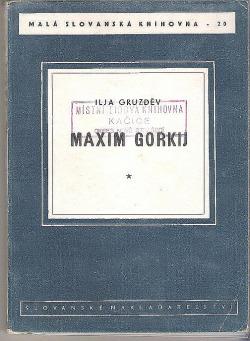 Maxim Gorkij obálka knihy
