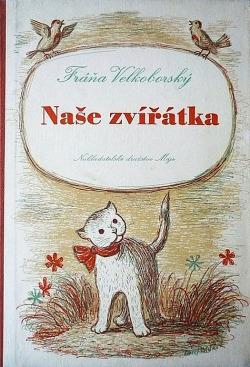 Naše zvířátka obálka knihy