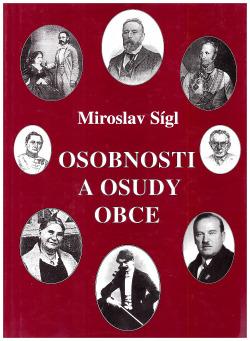 Obříství osobnosti a osudy obce obálka knihy