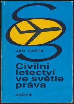 Civilní letectví ve světle práva obálka knihy